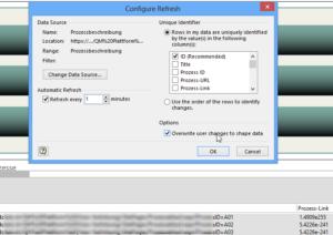 Configure Refresh