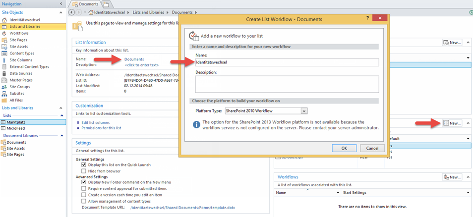 how to create a workflow in sharepoint 2010 without designer